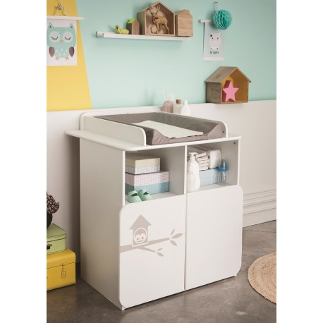 Changing table - Owl collection
