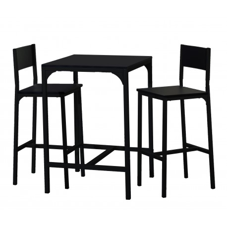 High table and 2 chairs - Klass