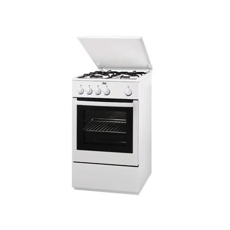 Gas cooker with 4 hot plates and oven